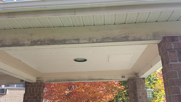 Porch Painting Before